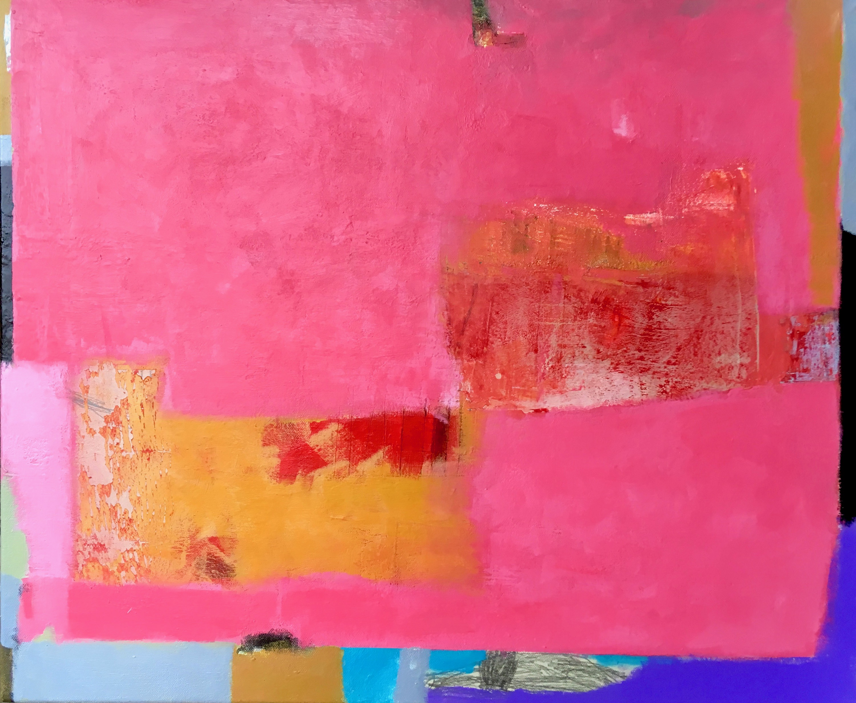 Composition in Pink