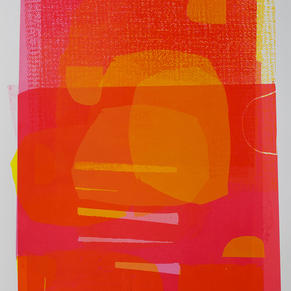 Rasberry Abstract