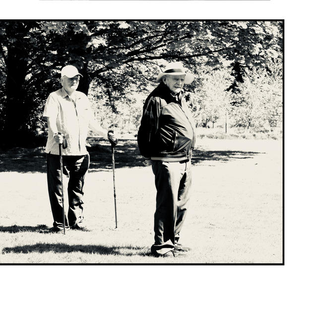 Two Men In Park (Lockdown 1)