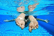 Aylesbury Learn to Swim, Flipper feet swim school