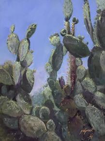 """Cactus Tree  16x12"""""""