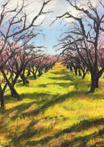 """Aging Orchard   16x12"""""""