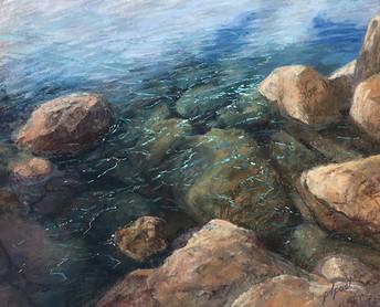 "Emerald Water   16x20"""