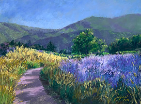 """LavenderValley 12x16"""""""
