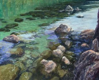 "Underwater Tahoe   16x20"""