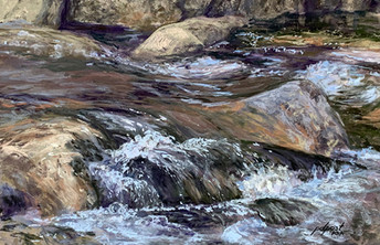 """Northern River         12x18"""""""