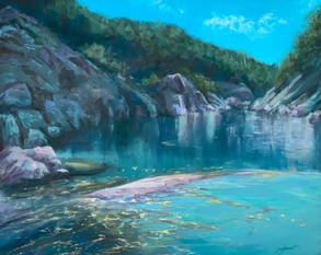 """Sierra Water     16x20"""""""