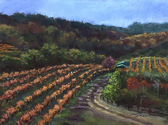 Vineyard Heaven   12x16""