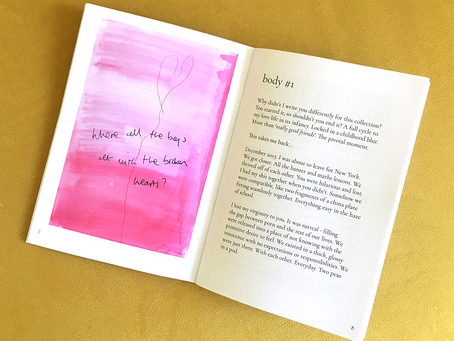 Sex, Loneliness and Longing - Popea Salisbury Presents 'body count' Zine