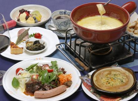 ♪休日は2人でスイス&アルザス料理を楽しもう!
