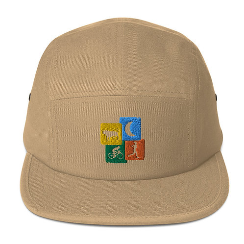 Bull Moon - Five Panel Cap