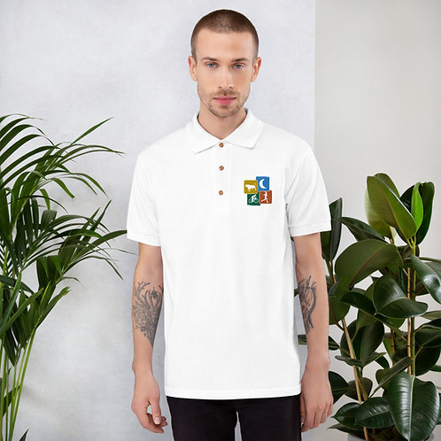 Bull Moon - Embroidered Polo Shirt