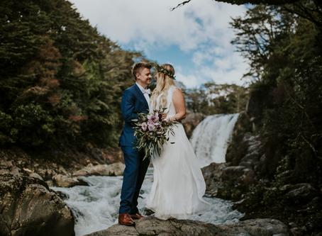 Ashley + Brian | Elopement | Mt Ruapehu, North Island