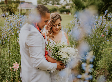 Cheyenne + Christian | Gracehill Vineyard, Auckland