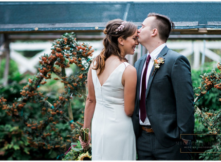 Fall Greenhouse Wedding | Memphis Wedding Photographer
