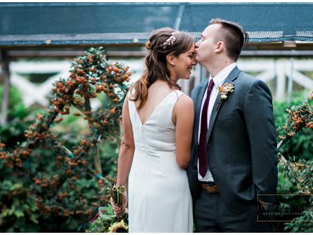 Fall Greenhouse Wedding | Memphis Wedding Photographer