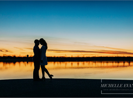 Memphis Engagement Photos | Michelle Evans Art | Lillian + Bandar