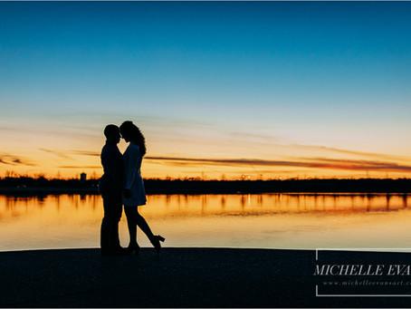 Memphis Engagement Photos | Michelle Evans Art | Lillian + Bandar