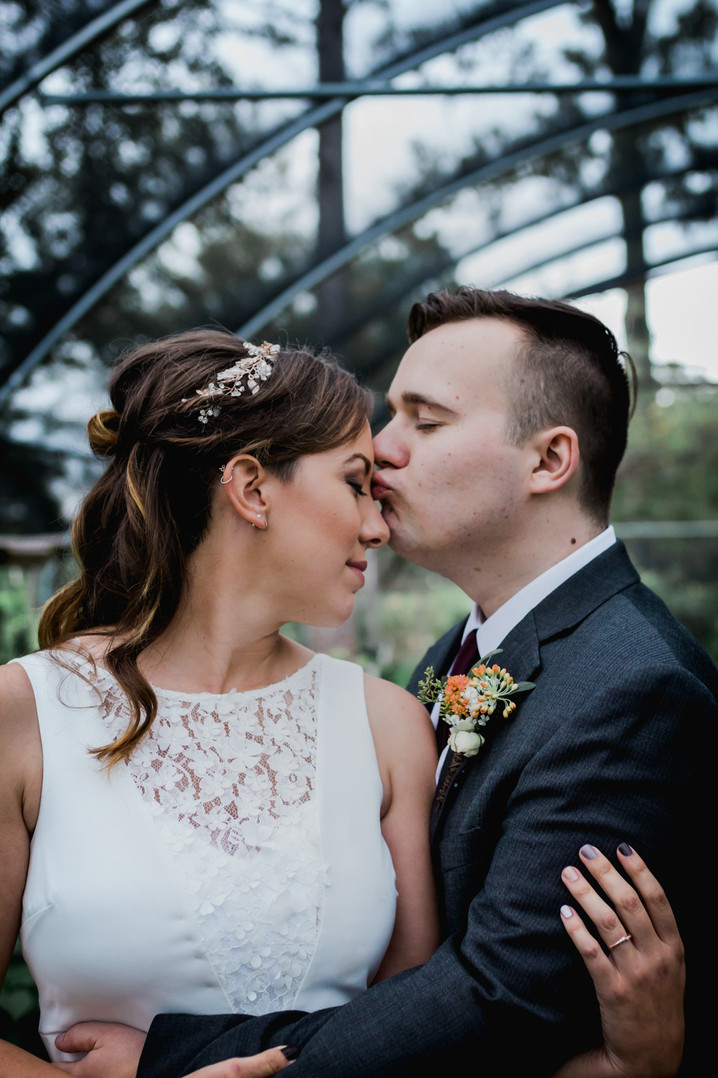 Greenhouse Wedding in Memphis Tennesse