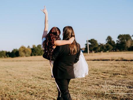 Arkansas Countryside Wedding | The Morgans |Michelle Evans Art