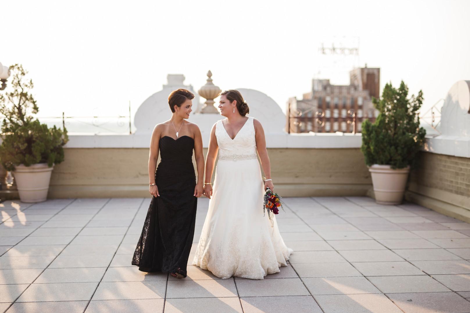 Same Sex Memphis Wedding Photographers