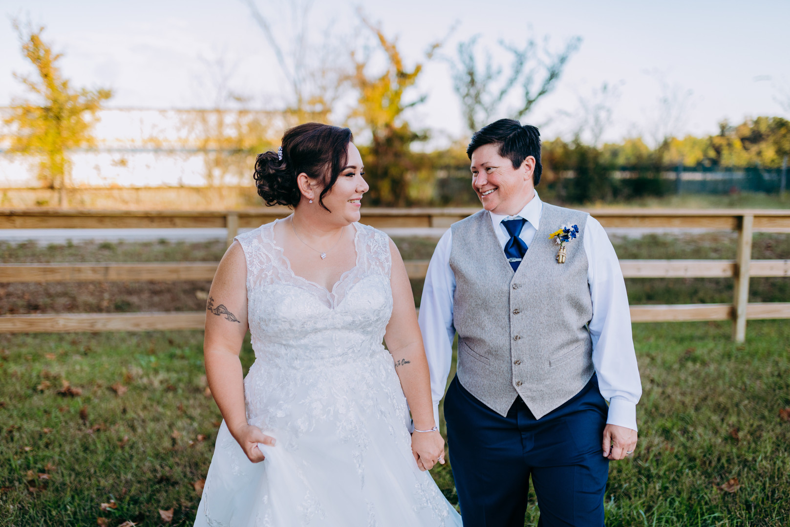 Countryside Same Sex Wedding in Memphis Tennessee