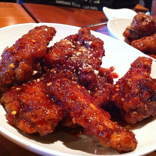 Marinated Fried Chicken (양념 치킨)