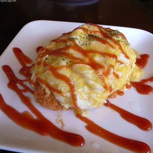Omelette Rice (오므라이스)