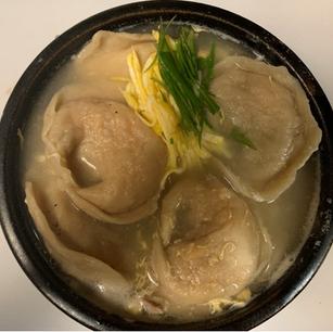 Handmade Korean Dumpling Soup