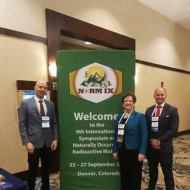 With Ruth McBurney, Conference of Radiation Control Program Directors, Frankfort, Kentuky