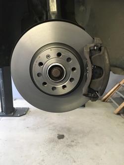 Neue Bremse