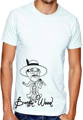 Cartoon t-shirt white