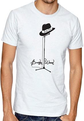 Microphone T-shirt white