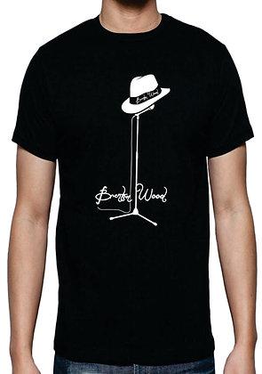 Brenton Wood Hat On Microphone T-Shirt