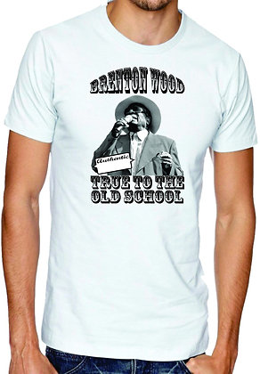 Brenton Wood Authentic True To The Old School T-Shirt