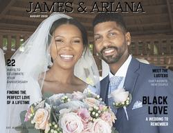 Custom Wedding Album Cover