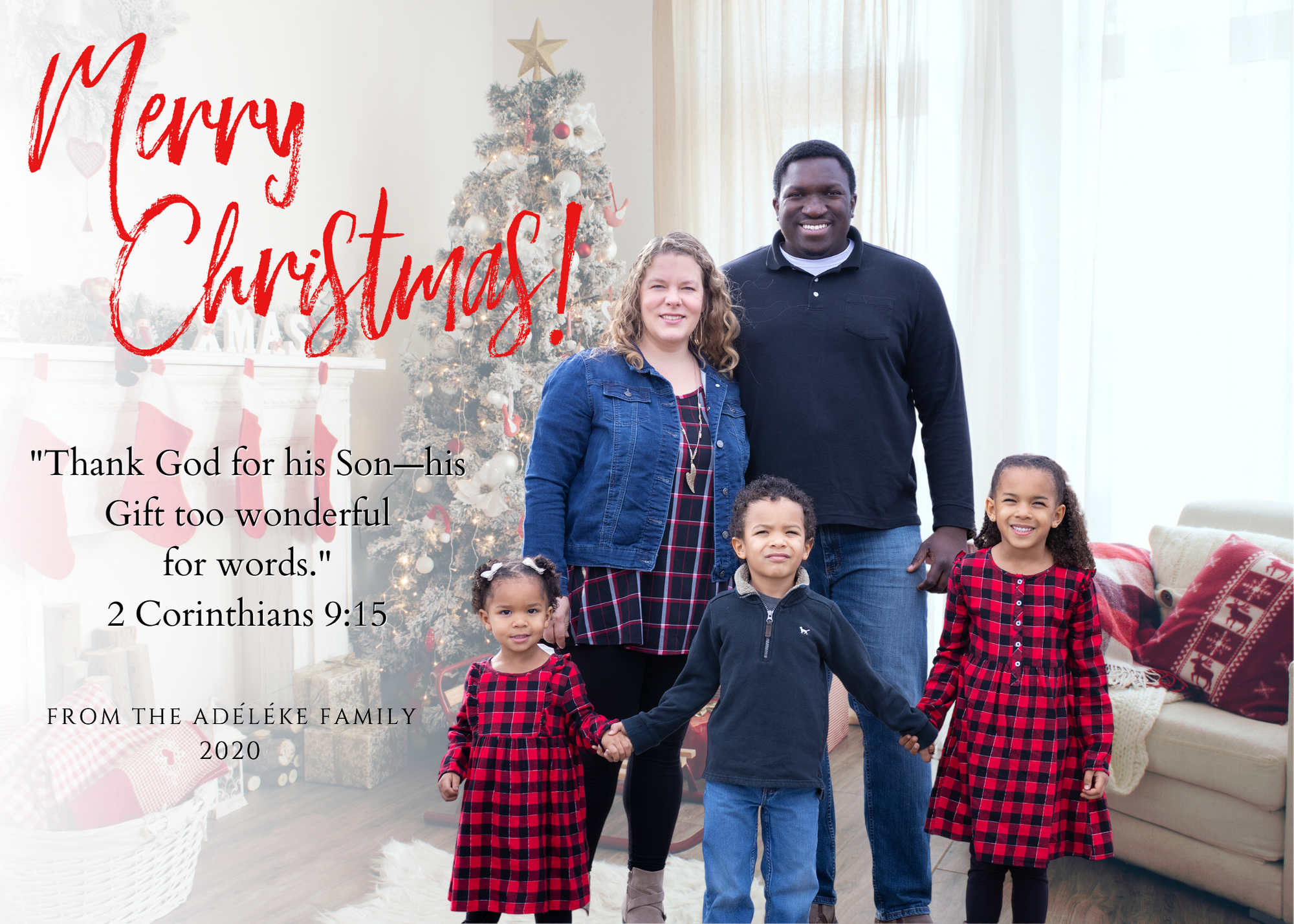 Custom Christmas Card