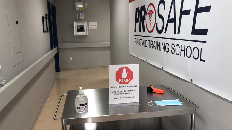 ProSafe Abbotsford Check in