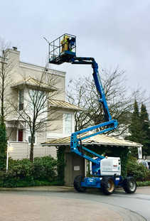 Boom Lift in Action