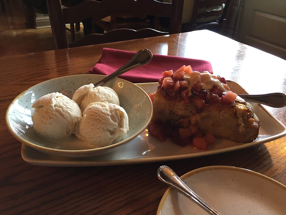 Johnny Appleseed Bread Pudding