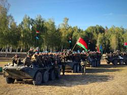 Культурно-художественное обслуживание участников белорусско-российского тактического учения