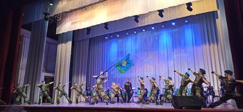 Балетная группа ансамбля песни и пляски ВДВ