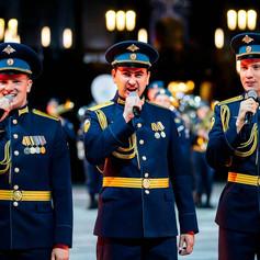 Хоровая группа ансамбля песни и пляски Воздушно-десантных войск