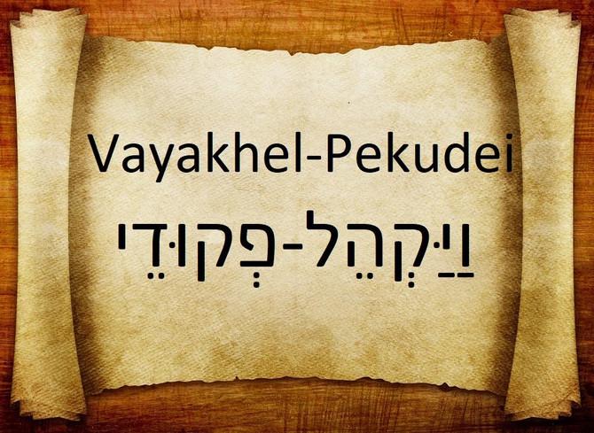 PARASHIYOT VAYAKHEYL/PEKUDAI