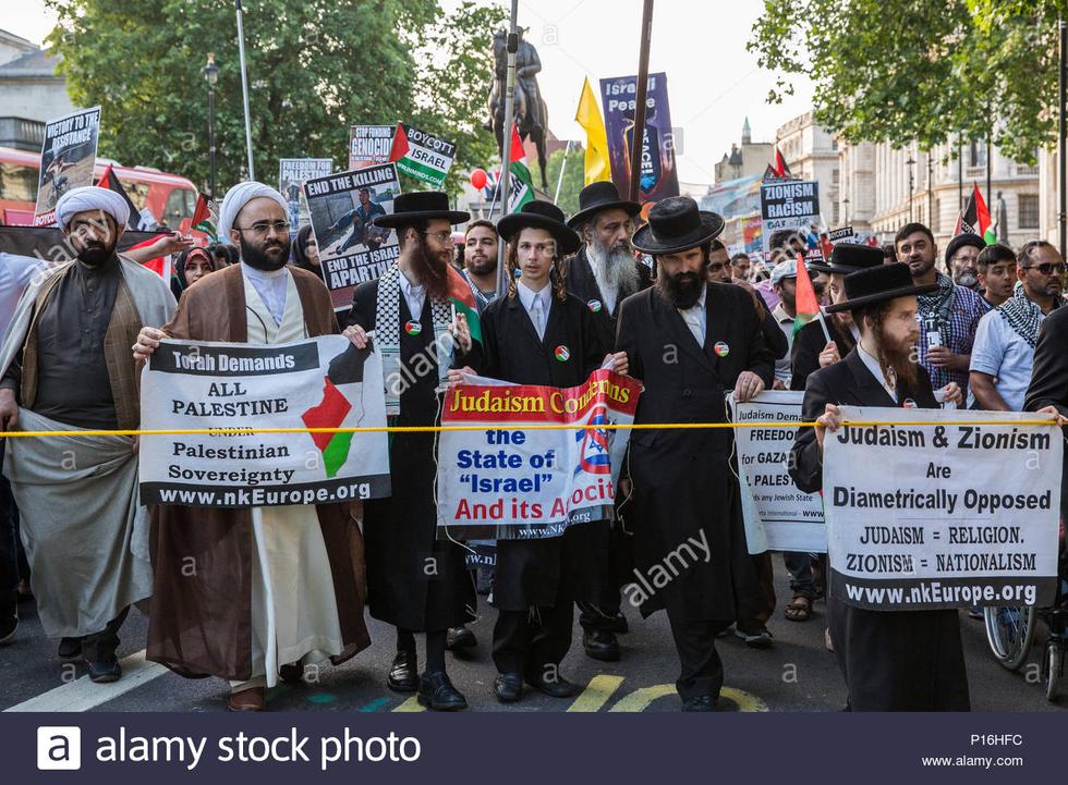 Satmar Rabbi Lands in Jerusalem to Destroy Israel
