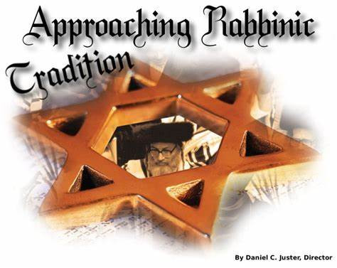 Approaching Rabbinic Tradition
