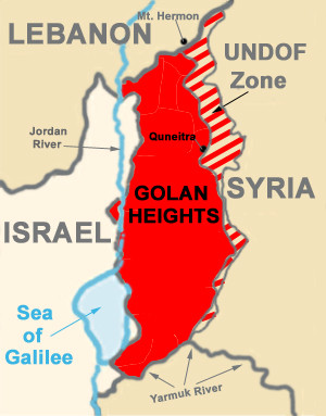Golan Heights recognition by the US