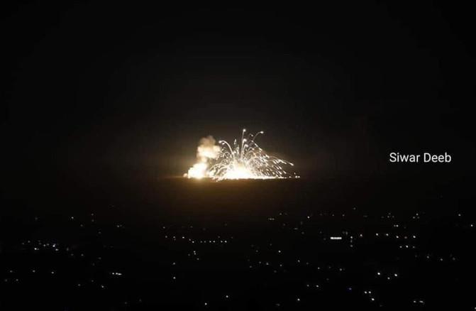 Israel Destroys Iranian HQ in Syria