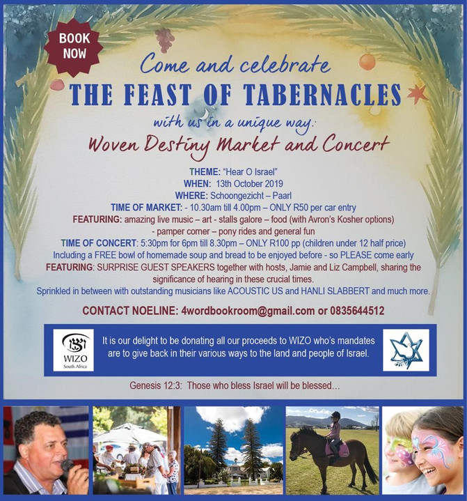 The Chaggim – The Jewish Festivals - The Feasts of the Lord