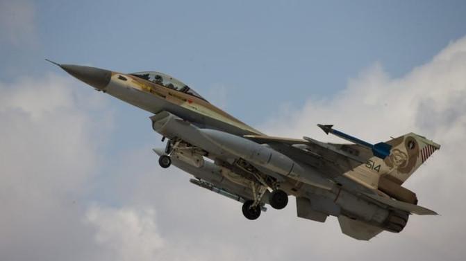 Israeli air force bombs Syrian position near Golan Heights